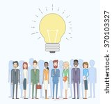 business people group idea... | Shutterstock .eps vector #370103327