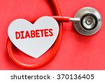 stethoscope and heart symbol... | Shutterstock . vector #370136405