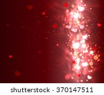 Abstract Glow Soft Hearts For...