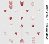 cupid's arrows. vector. love.... | Shutterstock .eps vector #370150805