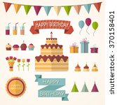 vector illustration of party... | Shutterstock .eps vector #370158401