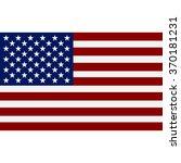 american  flag | Shutterstock .eps vector #370181231