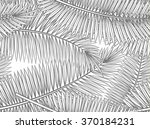 seamless pattern with palm... | Shutterstock .eps vector #370184231