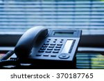 executive voip desk phone with... | Shutterstock . vector #370187765