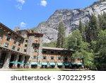 yosemite valley  ahwahnee hotel ... | Shutterstock . vector #370222955