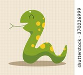 animal snake cartoon theme... | Shutterstock .eps vector #370226999
