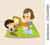 family theme elements | Shutterstock .eps vector #370228385