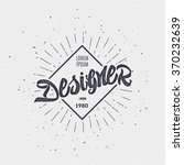 designer   insignia sticker can ... | Shutterstock .eps vector #370232639