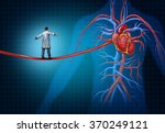 heart surgery concept as a... | Shutterstock . vector #370249121