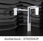 stylish dental cbct  on black... | Shutterstock . vector #370250429