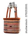empty hot air balloon basket... | Shutterstock . vector #370252031
