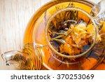 Exotic Green Tea Flowers In...