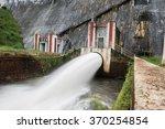 scene at neyyar dam | Shutterstock . vector #370254854