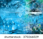 many abstract images on the... | Shutterstock . vector #370266029