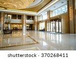 modern lobby lounge | Shutterstock . vector #370268411