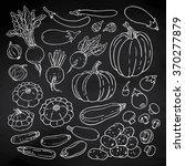 doodle vector illustration of... | Shutterstock .eps vector #370277879