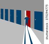 correct choose | Shutterstock .eps vector #370294775