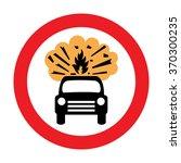 uk vehicles carrying explosives ... | Shutterstock .eps vector #370300235