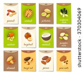 set of ad cards  banners  tags  ... | Shutterstock .eps vector #370304069