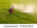 thailand man farmer to spray... | Shutterstock . vector #370314515