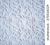 White Embossed Flowers Pattern...