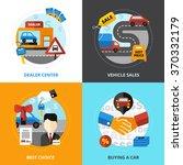 car dealership 2x2 design... | Shutterstock .eps vector #370332179
