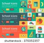 vector flat design concepts of... | Shutterstock .eps vector #370352357