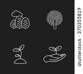 Four Flat Eco Icons