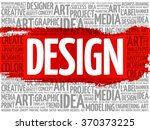 design word cloud  creative...   Shutterstock .eps vector #370373225