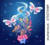 Transparent  Butterflies With...
