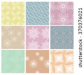 seamless vector floral pattern... | Shutterstock .eps vector #370376021