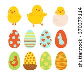 Happy Easter Design Elements...