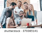 great result  group of six...   Shutterstock . vector #370385141