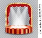 vector transparent spotlights... | Shutterstock .eps vector #370385375