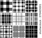 set of classical checkered... | Shutterstock .eps vector #370405001
