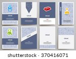 corporate identity vector... | Shutterstock .eps vector #370416071
