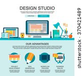 one page web design template...