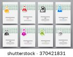 corporate identity vector...   Shutterstock .eps vector #370421831
