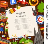 welcome to germany   vector... | Shutterstock .eps vector #370428191