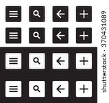 set of icons for material...