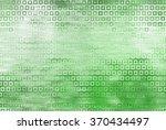 bright abstract mosaic green... | Shutterstock . vector #370434497