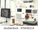 design studio creativity ideas... | Shutterstock . vector #370436114