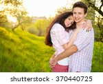love. happy couple. love story. ...   Shutterstock . vector #370440725