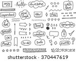 stickers and tags for your... | Shutterstock .eps vector #370447619