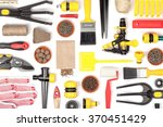 garden equipment and other... | Shutterstock . vector #370451429
