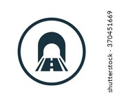vector road tunnel icon | Shutterstock .eps vector #370451669