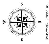 compass navigation dial  ... | Shutterstock .eps vector #370467104