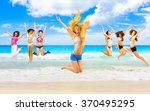 flying beauties under the sun  | Shutterstock . vector #370495295