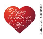 happy valentine's day in the... | Shutterstock .eps vector #370501067