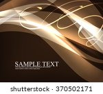 elegant transparent bent... | Shutterstock .eps vector #370502171